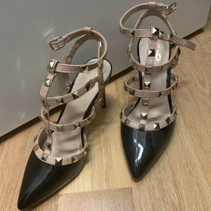Studded heels with Strap, no original box.